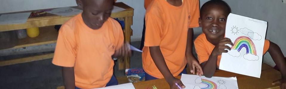 Haitian Children in Christian Academy HA