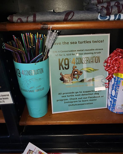 K9s 4 Conservation Metal Straws!