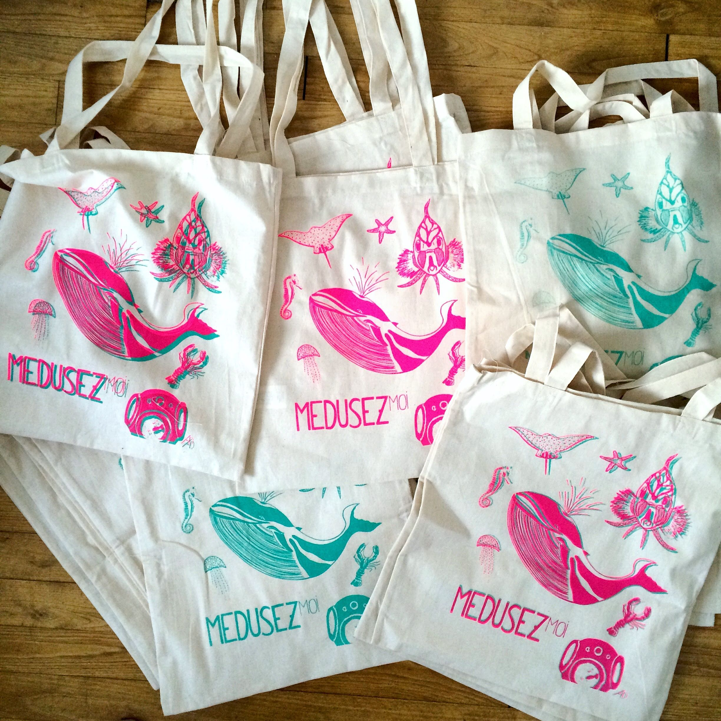 Totebag Alice Descamps