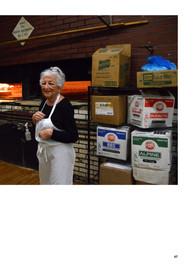Lois Scialo next to Oven