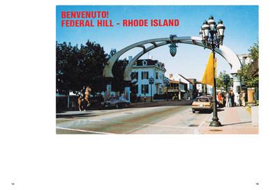 Neighborhood 1981 Postcard