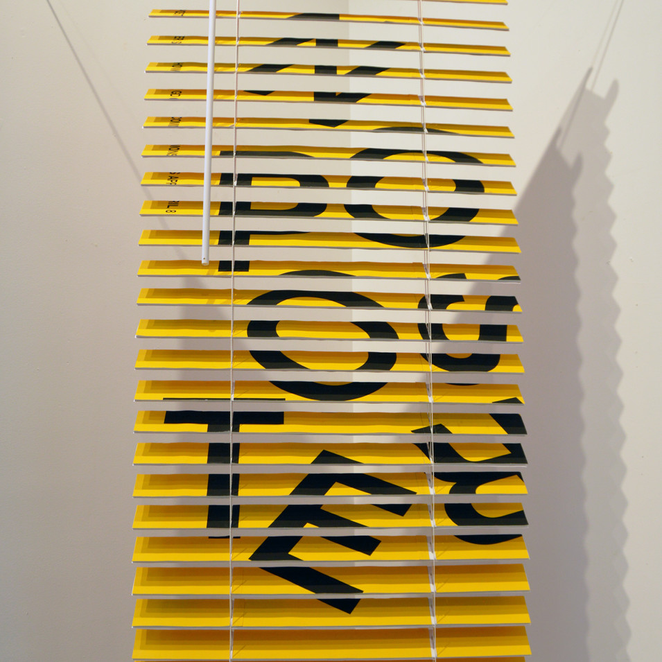 Blinds (Yellow)
