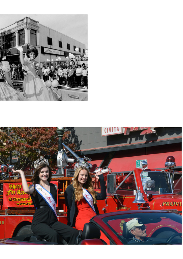 Columbus Day Parade Beauty Queens