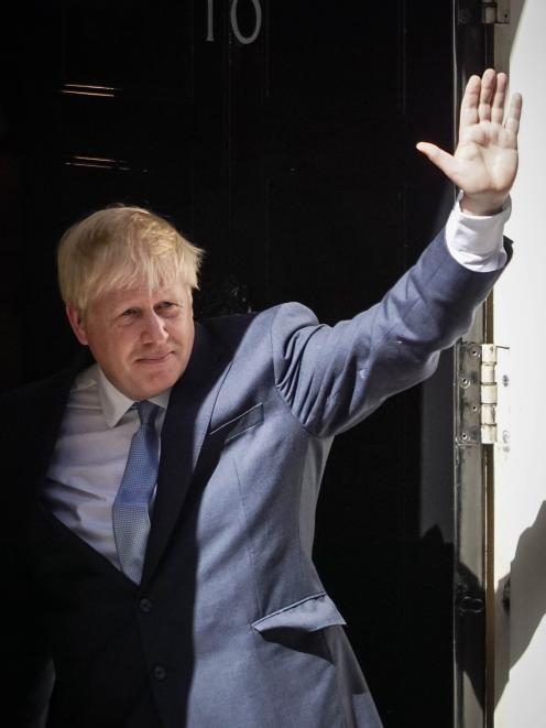 Boris Johnson is returned as Prime Minister