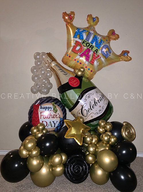 King for a Day Bouquet