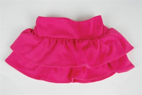 Hot Pink Tiered Skirt