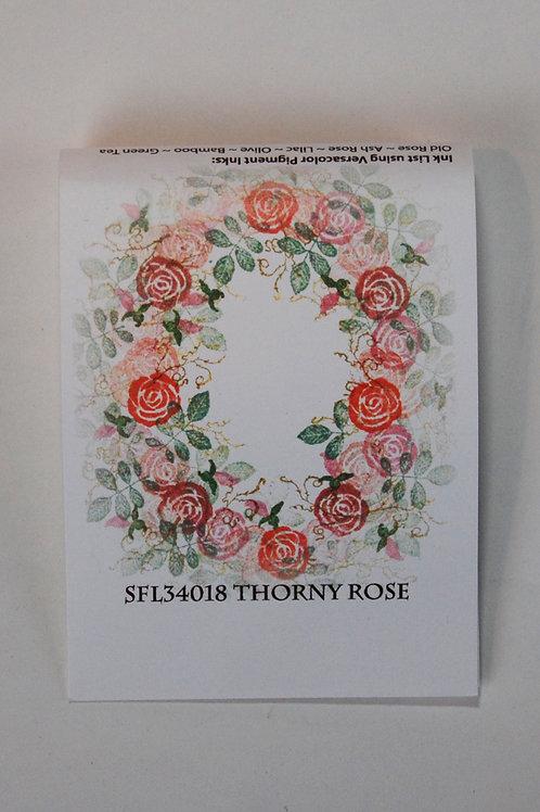 Thorny Rose Stamp
