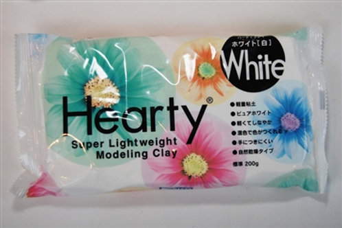 Hearty Clay, White, 200g