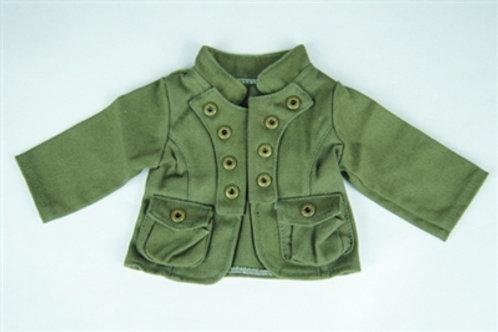 Olive Military Style Jacket