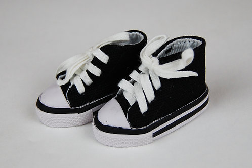 LD High Top Tennis Shoes Black
