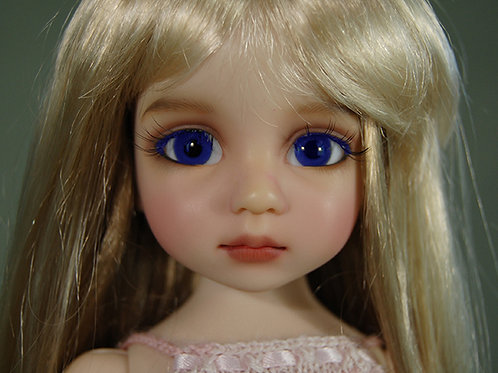 BJD Glass Eyes Dark Blue