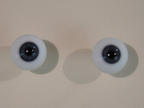 Blue German blown glass eyes
