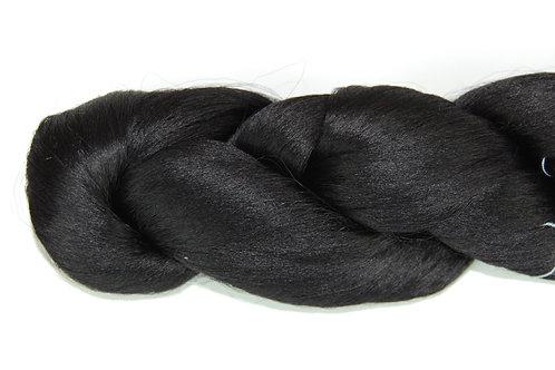 Silk Doll Hair- Black