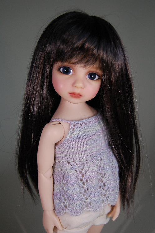 Dianna Effner's Darling BJD Miranda Wig Medium Brown