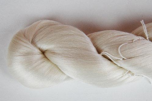White Silk Hair