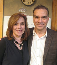 Alan Safier hangs out with Pulitzer Prize–winner Marsha Norman ('Night, Mother) at the Inge Theatre Festival.