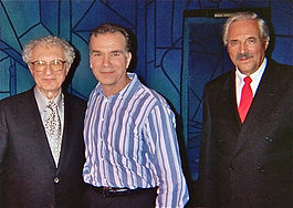 Actor Alan Safier, lyricist Sheldon Harnick and a cop named Lipshitz.