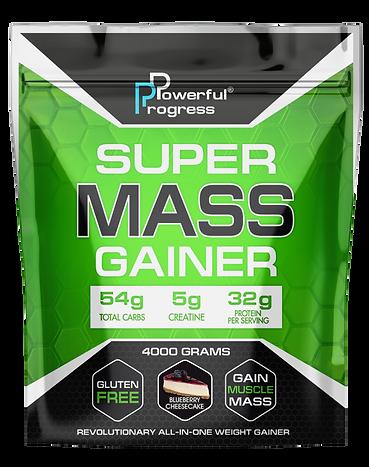 Гейнер - SUPER MASS GAINER - BLUEBERRY