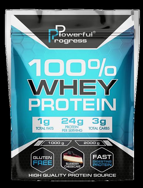 Протеїн - 100% WHEY PROTEIN - BLUEBERRY