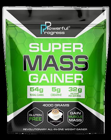 Гейнер - SUPER MASS GAINER - CAPPUCCINO