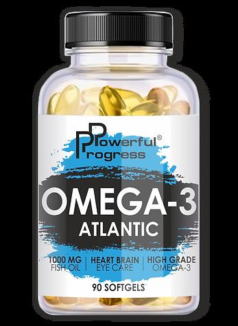 Риб'ячий жир - ATLANTIC OMEGA-3 - 90 ca