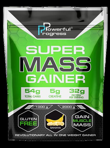Гейнер - SUPER MASS GAINER - BANANA - 1