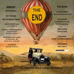 CD back cover design