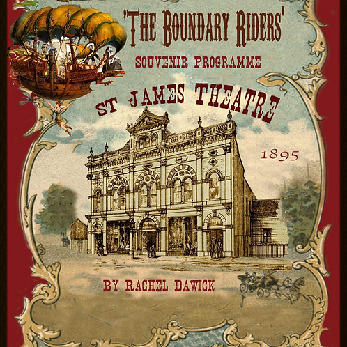 The Boundary Riders Book & Show CD