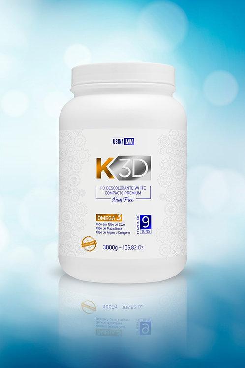 Pó Descolorante K3D 9 Kg