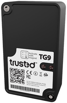 Trusted TG9 industrial self powered Iot asset 3G tracking device