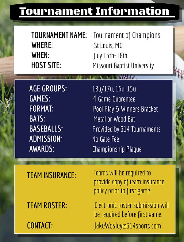 Tournament of Champions | Tourney Info.j
