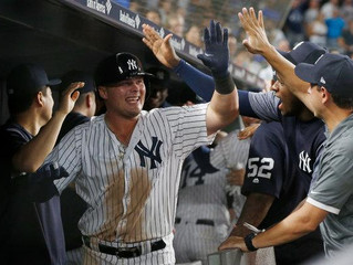Luke Voit Earnes his Pinstripes in the Bronx
