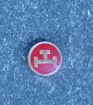 Insigna Ritul York, RAM, metal comun aurit (mica)