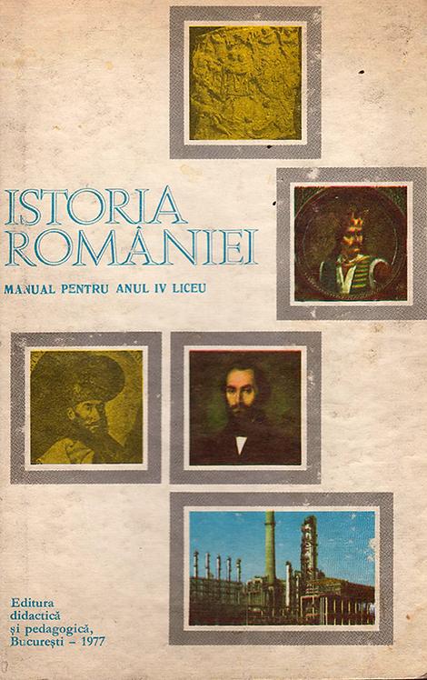Stefan Pascu (Coordonator), Istoria Romaniei. Manual pentru anul IV liceu