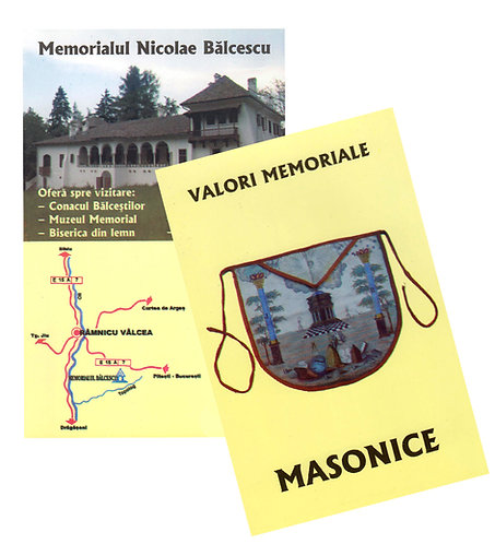 Valori memoriale masonice, Muzeul Nicolae Balcescu