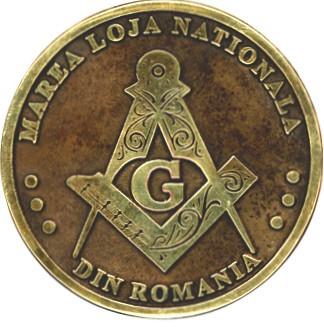 Macheta medalie Marea Loja Nationala - Opera Magna