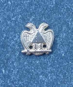Insigna Rit Scotian, Grad 30-32, vultur bicefal, metal comun aurit