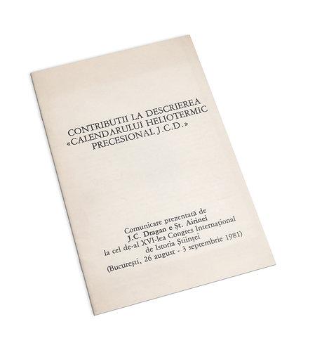 J. C. Dragan, Contributii la descrierea calendarului heliotermic precesional