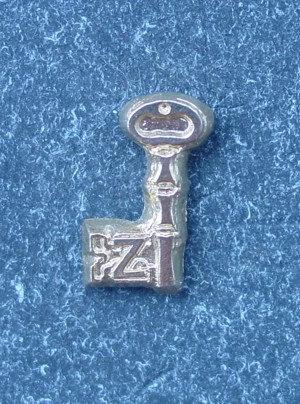Insigna Rit Scotian, Grad 4, metal comun aurit