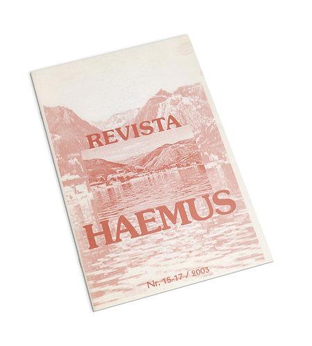 Revista europeana bilingva romano-albaneza, Nr.15-17/2003