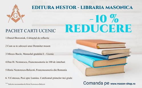 Pachet carti recomandare UCENIC (Gradul 1)