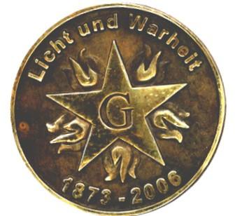 Macheta medalie Marea Loja Nationala - Lumina si Adevar