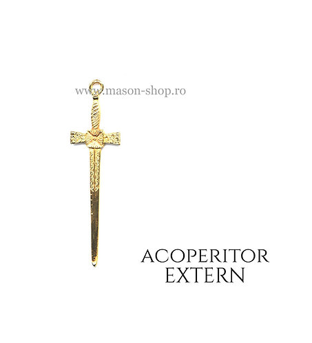 Acoperitor extern - bijuterie colan
