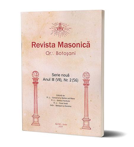 Revista Masonica Or:. Botosani Anul III, nr. 2 (56)