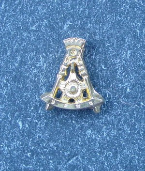 Insigna Rit Scotian, Grad 14, metal comun aurit