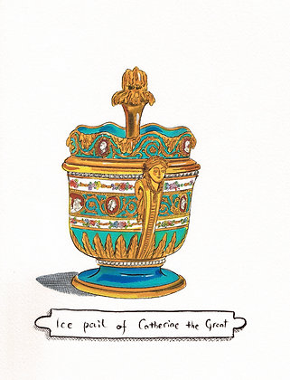 """""""Ice pail of Catherine the Great"""""""