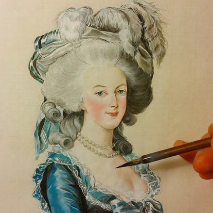 Marie-Antoinette d'après Vigée le Brun