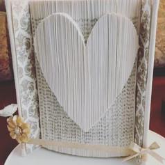 Heart Book Art