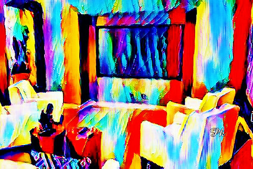Abstract Theater Room