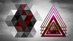 Geometric Grey Rudy Black